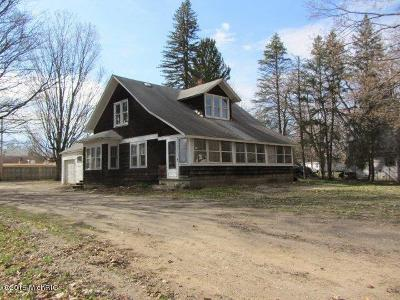 Hersey Single Family Home For Sale: 106 S Division Street