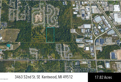 Kentwood Residential Lots & Land For Sale: 3491-3463 52nd Street SE