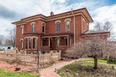 Schoolcraft Single Family Home For Sale: 158 S Grand Street