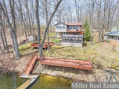 Delton Single Family Home For Sale: 8345 Wilkinson Lake Street