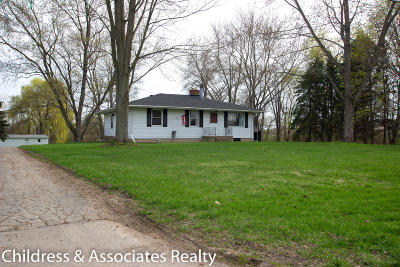 Sparta Single Family Home For Sale: 1338 10 Mile Road NW