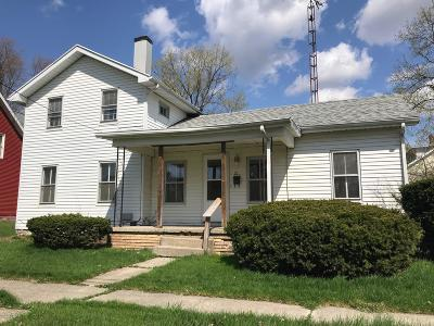 Hudson MI Single Family Home For Sale: $79,900