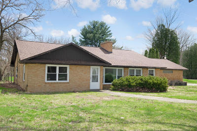 Allegan Single Family Home For Sale: 1291 32nd Street