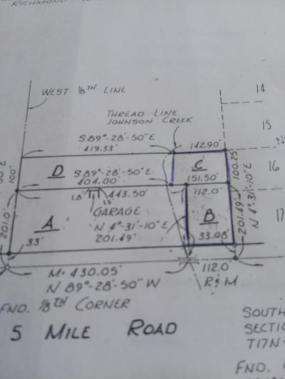 Reed City Residential Lots & Land For Sale: W 5 Mile Road