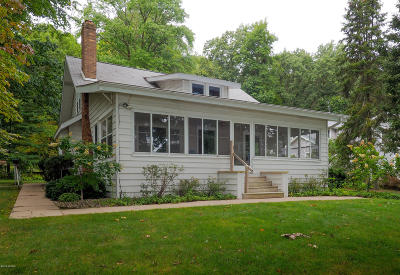 Single Family Home For Sale: 371 S Gull Lake Drive