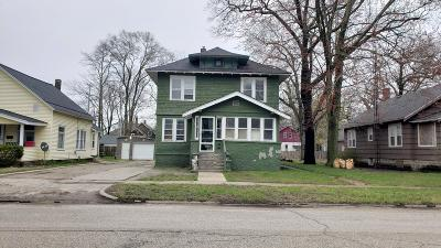 Muskegon Heights Single Family Home For Sale: 2820 6th Street