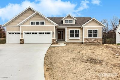 Hudsonville Single Family Home For Sale: 5342 Eagle Cove Drive