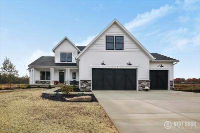 Hudsonville Single Family Home For Sale: 6267 Eaglewood Drive