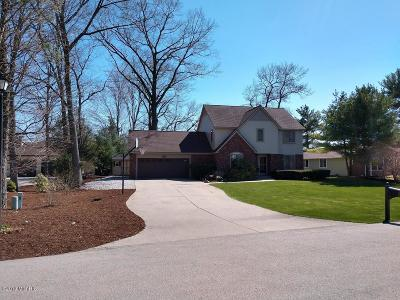 Muskegon Single Family Home For Sale: 1665 Rood Point Road