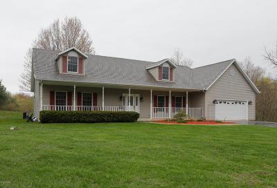 Delton Single Family Home For Sale: 6320 Otis Lake Road