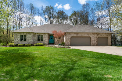 Kalamazoo Single Family Home For Sale: 6347 Shugarbush Trail