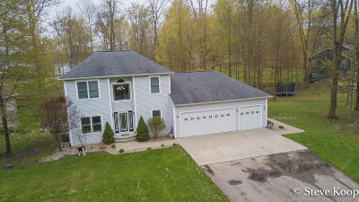 Allegan Single Family Home For Sale: 2516 Vanhorn Court