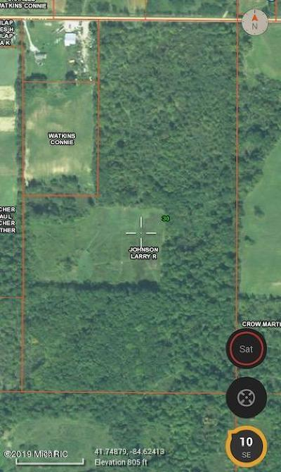 Berrien County, Branch County, Cass County, Calhoun County, Hillsdale County, Jackson County, Kalamazoo County, Van Buren County, St. Joseph County Residential Lots & Land For Sale: V/L Camden Road