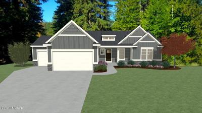 Allegan County Single Family Home For Sale: Lot 8 Rymore Wood