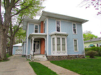 Coldwater MI Single Family Home For Sale: $89,000