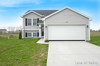 Kent City Single Family Home For Sale: 302 Vansen Drive