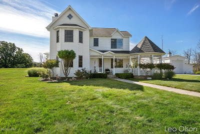 Single Family Home For Sale: 8338 Cleveland Street W
