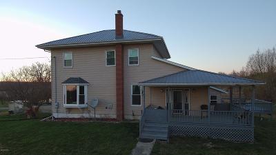 Pittsford Single Family Home For Sale: 7840 Tamarack Road