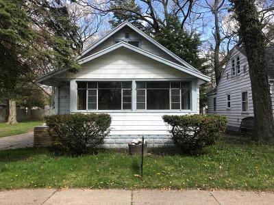Muskegon Heights Single Family Home For Sale: 3128 5th Street
