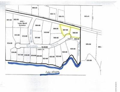 Allegan Residential Lots & Land For Sale: Lot 8 Damal Drive