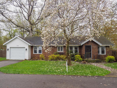 Battle Creek Single Family Home For Sale: 1242 Woodland Beach