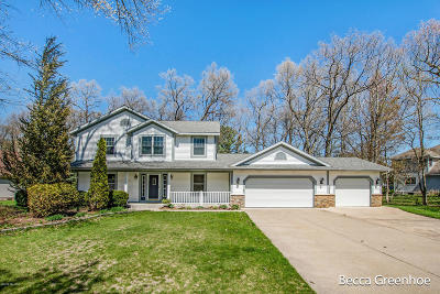 Grand Haven Single Family Home For Sale: 13700 Hofma Drive