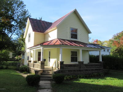 Otsego Single Family Home For Sale: 445 W Allegan Street