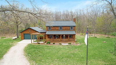 Allegan Single Family Home For Sale: 4235 Elm Tree Lane