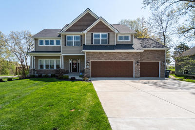 Kalamazoo Single Family Home For Sale: 7667 Crooked Cove Street