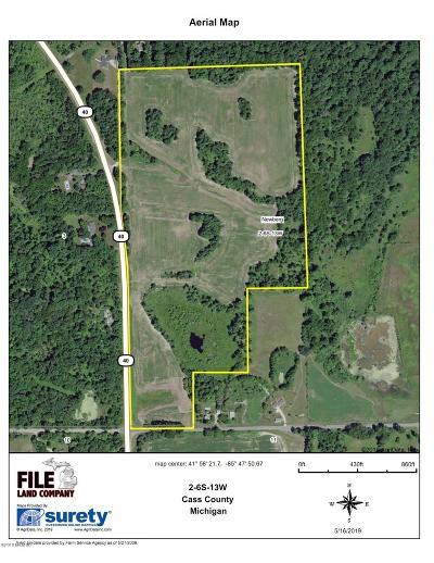 Berrien County, Cass County, Van Buren County Residential Lots & Land For Sale: 1 M-40