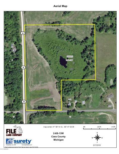 Cass County Residential Lots & Land For Sale: 2 M-40