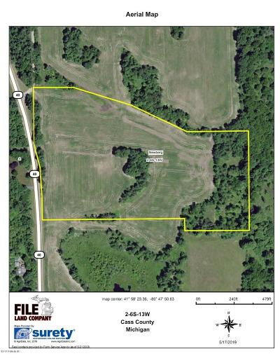 Cass County Residential Lots & Land For Sale: 3 M-40