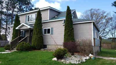 Manistee Single Family Home For Sale: 4250 Maple Road
