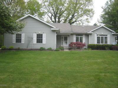 Hudsonville Single Family Home For Sale: 4957 Tyler Oaks Dr Drive