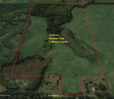 Berrien County, Branch County, Cass County, Calhoun County, Hillsdale County, Jackson County, Kalamazoo County, Van Buren County, St. Joseph County Residential Lots & Land For Sale: K Drive S