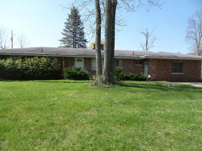 Berrien Springs Single Family Home For Sale: 4666 Greenfield Drive
