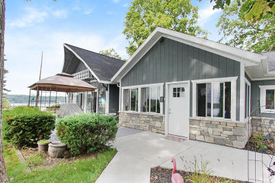Newaygo Single Family Home For Sale: 7696 S Croton-Hardy Drive