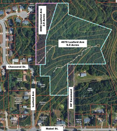 Comstock Park Residential Lots & Land For Sale: 4080 Luxford NW