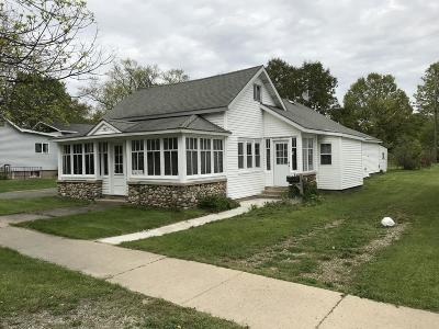 Shelby MI Single Family Home For Sale: $65,000
