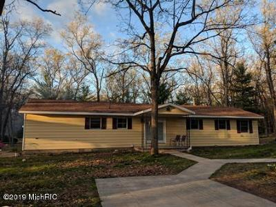 Baldwin Single Family Home For Sale: 8556 S Evergreen Road