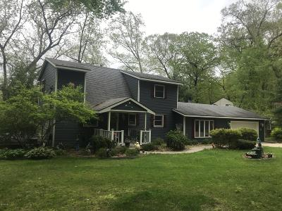 Clinton County, Gratiot County, Isabella County, Kent County, Mecosta County, Montcalm County, Muskegon County, Newaygo County, Oceana County, Ottawa County, Ionia County, Ingham County, Eaton County, Barry County, Allegan County Single Family Home For Sale: 5715 Fawn Lake Drive