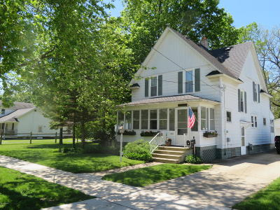 Otsego Single Family Home For Sale: 522 S Farmer Street