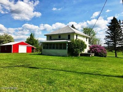 Single Family Home For Sale: 3484 E 13 Mile Road