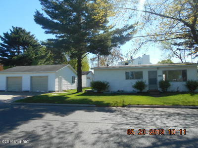 Ludington Single Family Home For Sale: 502 N Staffon Street