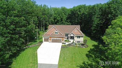 Hudsonville Single Family Home For Sale: 5135 Hide Away Lane