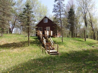 Benzie County, Charlevoix County, Clare County, Emmet County, Grand Traverse County, Kalkaska County, Lake County, Leelanau County, Manistee County, Mason County, Missaukee County, Osceola County, Roscommon County, Wexford County Single Family Home For Sale: 123 W 4 Mile Road