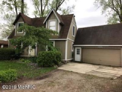 Clinton County, Gratiot County, Isabella County, Kent County, Mecosta County, Montcalm County, Muskegon County, Newaygo County, Oceana County, Ottawa County, Ionia County, Ingham County, Eaton County, Barry County, Allegan County Single Family Home For Sale: 6641 Jack Avenue SE