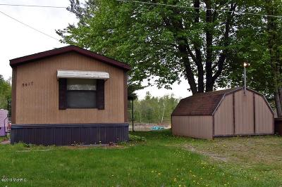 Mecosta MI Single Family Home For Sale: $49,900