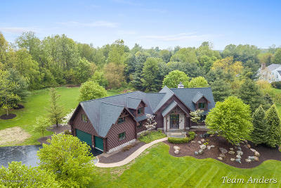 Clinton County, Gratiot County, Isabella County, Kent County, Mecosta County, Montcalm County, Muskegon County, Newaygo County, Oceana County, Ottawa County, Ionia County, Ingham County, Eaton County, Barry County, Allegan County Single Family Home For Sale: 7770 Rodao Drive SE