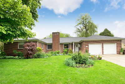 East Grand Rapids Single Family Home For Sale: 2865 Lake Dr Drive SE